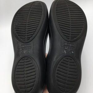 CROCS Shoes - CROCS Black Kadee Slingback Flats.